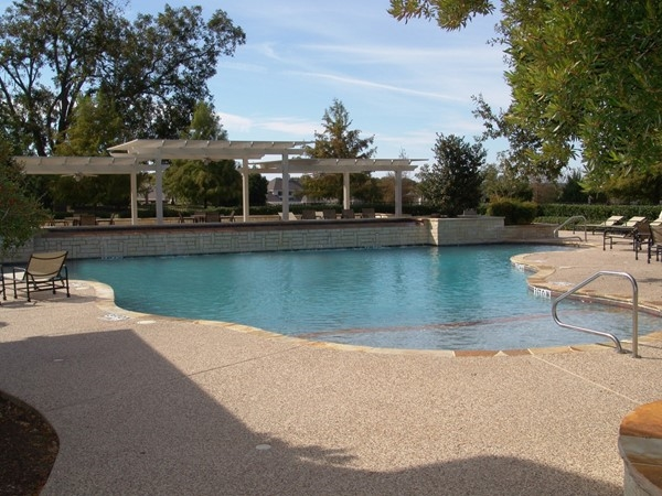 Outdoor pool is ready for pool parties. Another inside pool is year around