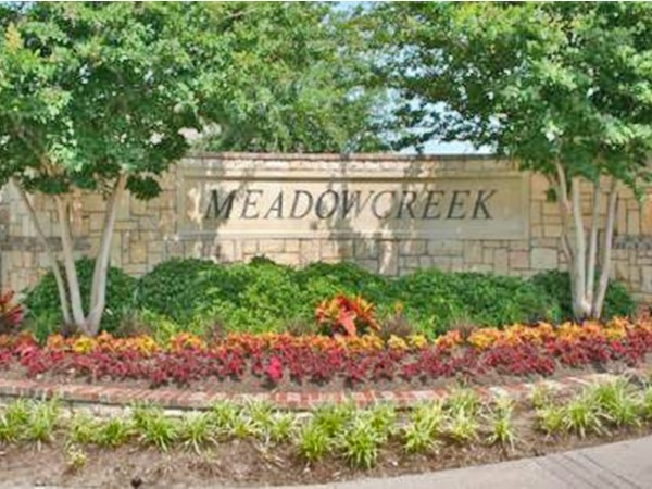 Meadow Creek residents enhance the quality of life and protects property values and investments