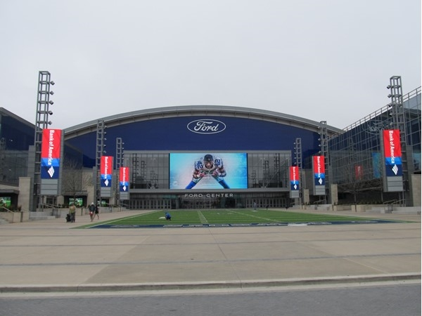 The Ford Center is one of the new additions to Frisco