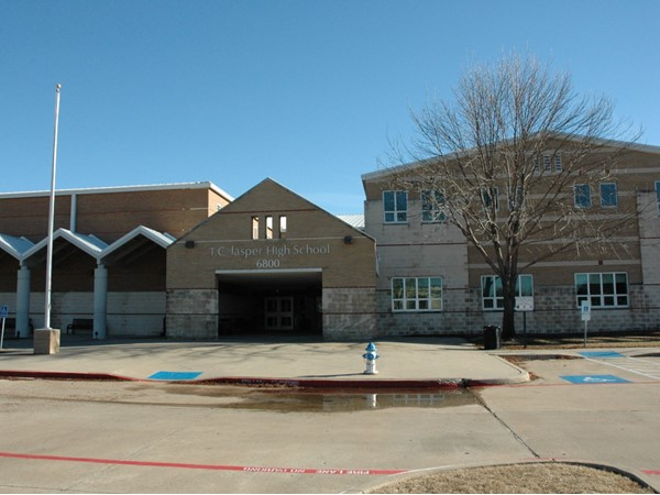 T.C. Jasper High School  in West Plano. Grades 9 and 10