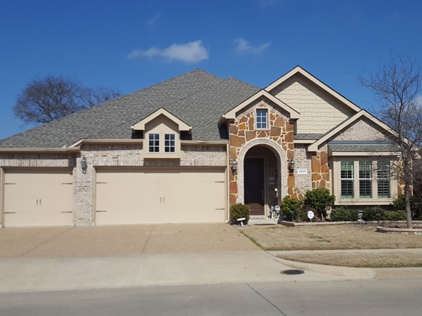 One of the many home styles in Creekview Estates
