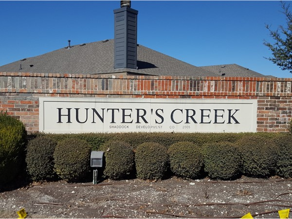 Welcome to Hunters Creek