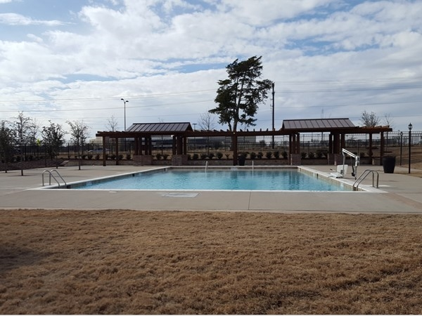 Community pool at Liberty Crossing