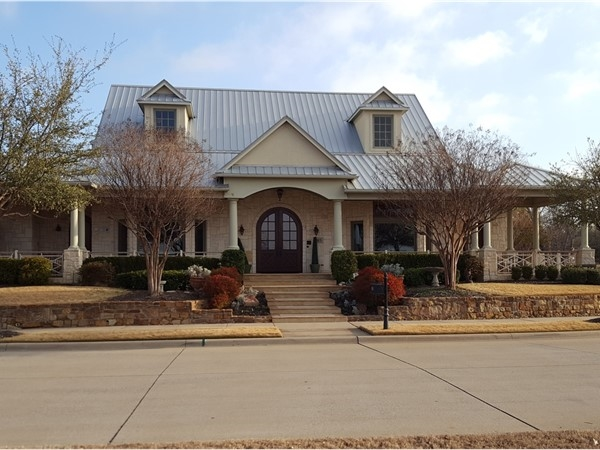 A custom home in The Settlement At Craig Ranch