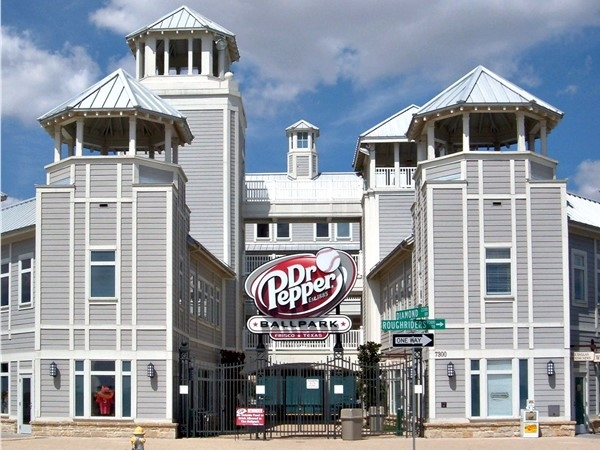 Dr. Pepper Ballpark, home of the Frisco RoughRiders