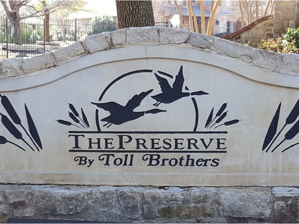 The Preserve gated community within Mallard Lakes