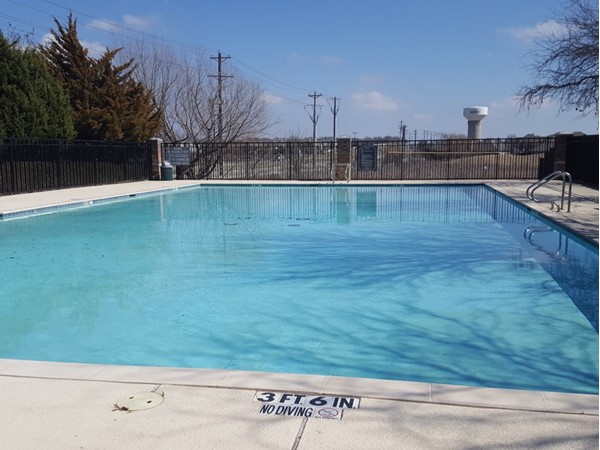 Community pool at Fairways West