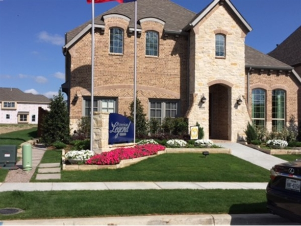 Model home in Stonebridge Ranch - Melton Ridge