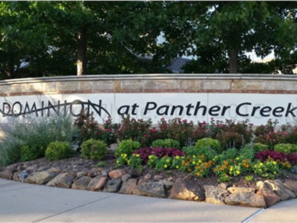 "Dominion at Panther Creek is home to the finest ""A"" rated Frisco ISD schools and residences"