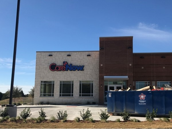 A new Care Now Emergency Clinic on I-30 and Horizon was just built November 2017