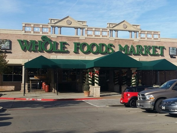 Great grocery shopping options near Park and Preston including Whole Foods and Trader Joe's