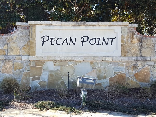 Welcome to Pecan Point at Winding Creek