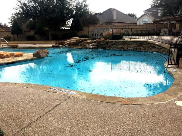 One of the seven community pools in Woodbridge