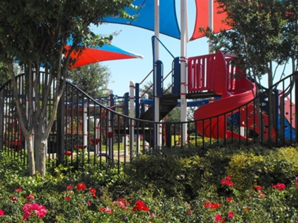 Grand Heritage in Lavon has a beautiful playground