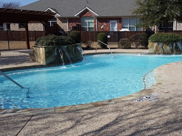 Community pool In Fairway Villas