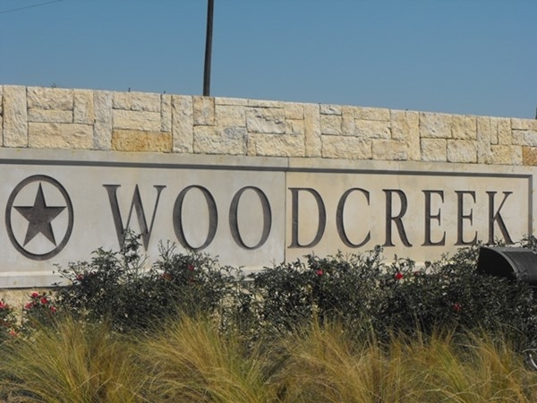 Woodcreek in Fate Texas