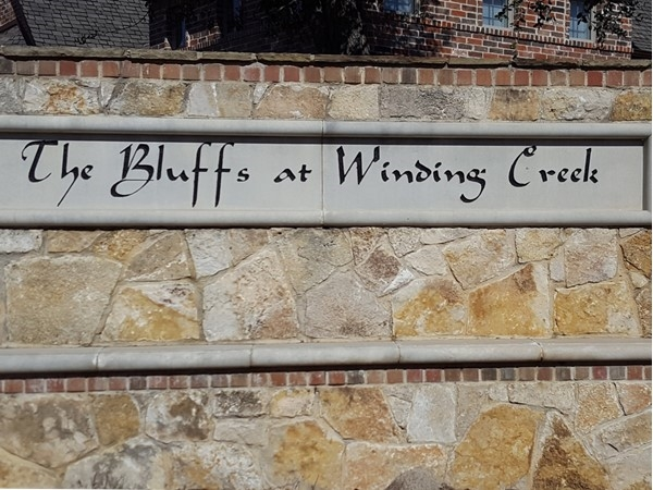 Welcome to the Bluffs At Winding Creek