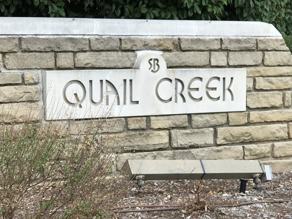 Quail Creek Entrance