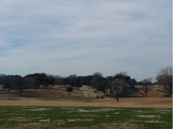 Driving range at Hills of Prestonwood