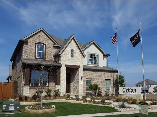 Gehan Homes model in Eagle Ridge