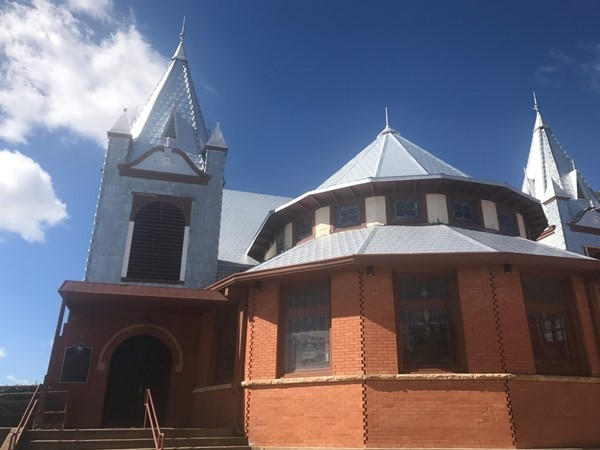 Local church in Farmersville