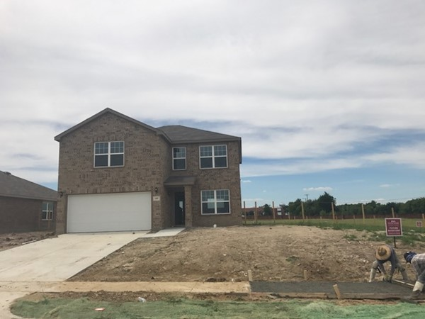 Affordable pricing for new construction in Terrell