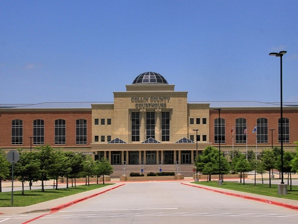Collin County Courthouse in McKinney