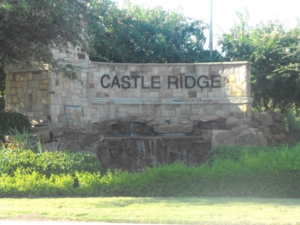 Quiet community of Castle Ridge on the north side of Rockwall is a must see