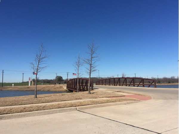 Verandah Subdivision entrance in Royse City