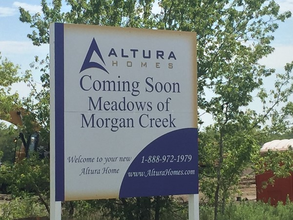 Meadows of Morgan Creek is a new construction subdivision in Royse City