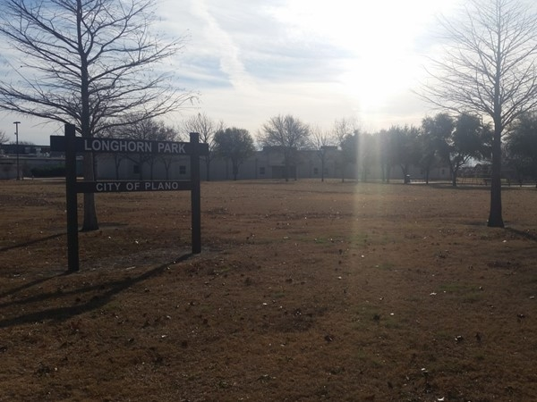 Longhorn Park has plenty of places to run, a playground, adjacent to Jackson Elementary