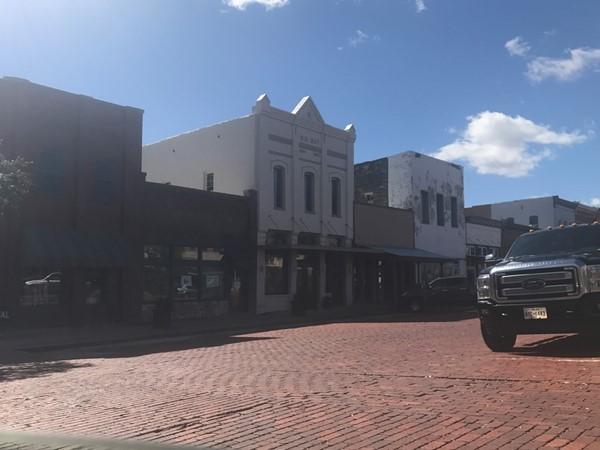 Street in Downtown Farmersville