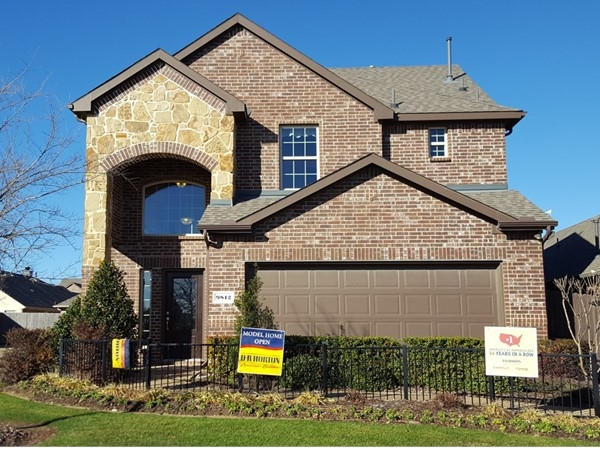 Model home on Fossil Creek