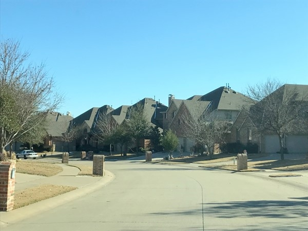 Nice, wide streets in this neighborhood