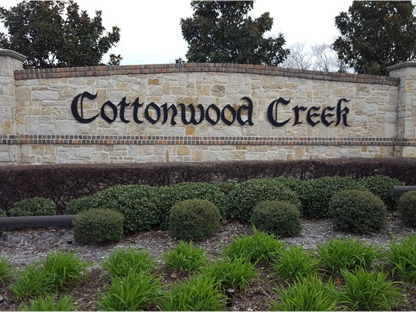 Welcome to Cottonwood Creek