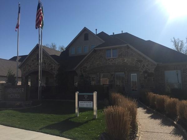Grenadier Homes newest model in Creekside Estates