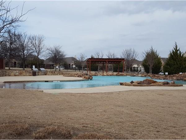 Community pool in Saddle Club