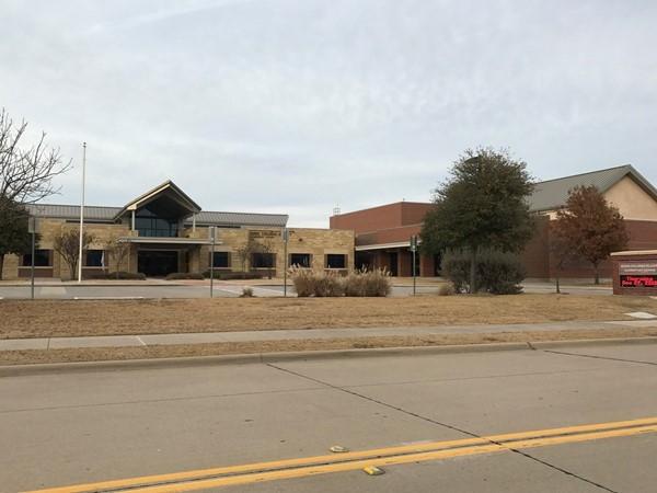 Elliot Elementary School on the edge of Brookstone subdivision