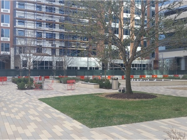 CityLine Plaza, very popular at lunch and on weekends