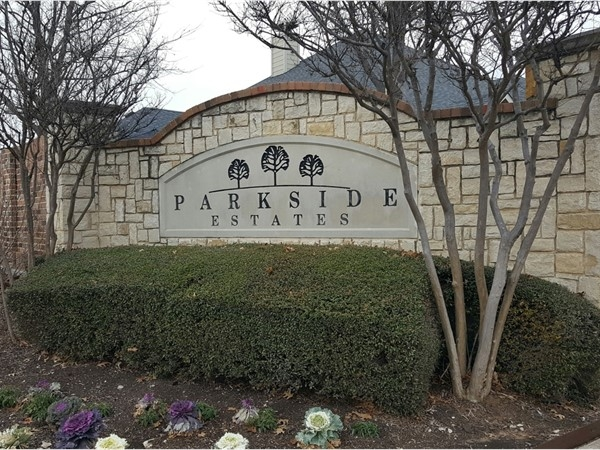 Parkside Estates entrance