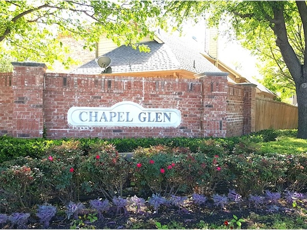 Welcome to Chapel Glen, a charming community in Farmers Branch