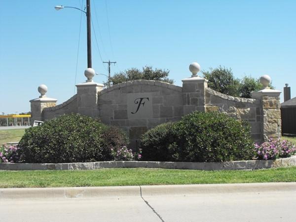 Fountain View entrance