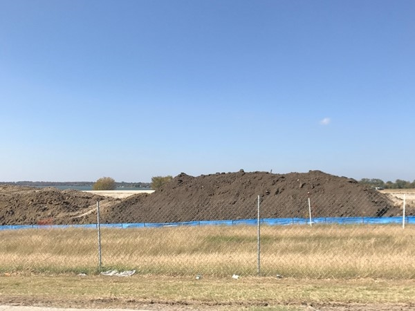 The dirt is turning. Let the awesomeness begin! Crystal Lagoon will be amazing