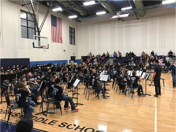 Scoggins Beginning Band Concert 01/31/17