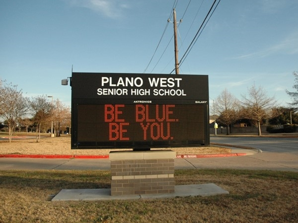 Be You at Plano West Senior High School