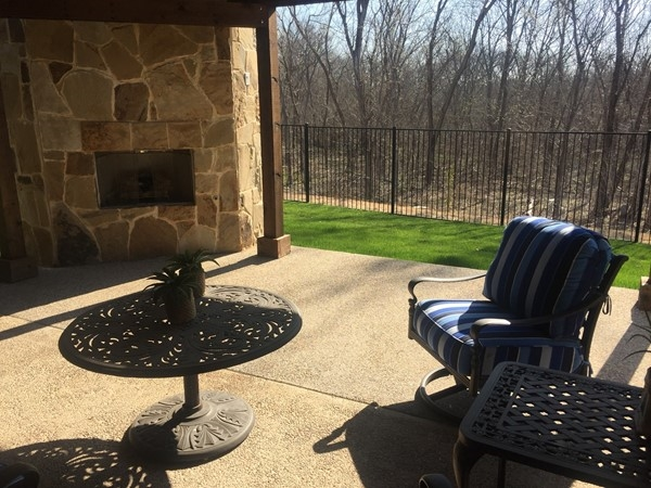 Grenadier Homes has fabulous front and back patios